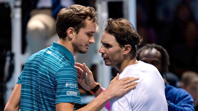 ATP Finals 2019: Rafael Nadal và màn ngược dòng không tưởng