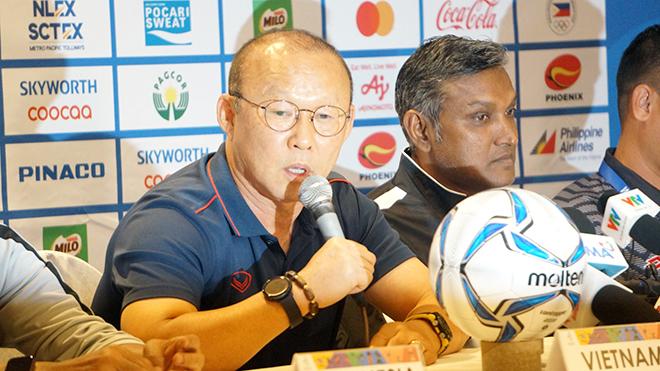 HLV Park Hang Seo: 'U22 Việt Nam không so hiệu số từ trận Brunei'