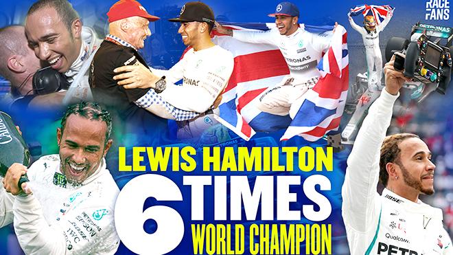 Lewis Hamilton lần thứ 6 vô địch F1: Hamilton đang viết lại lịch sử