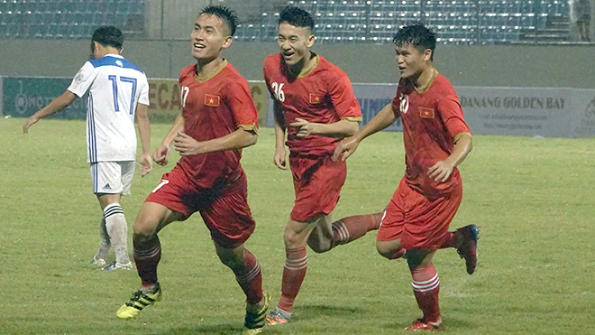 U21 Việt Nam 4 -1 Đại học Hanyang: Mưa bàn thắng dưới mưa bão