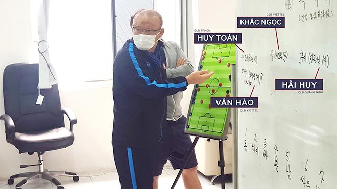 Khi HLV Park Hang Seo làm mới đội tuyển Việt Nam