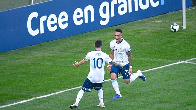 Barca: Lautaro đủ giỏi để đá cùng Messi