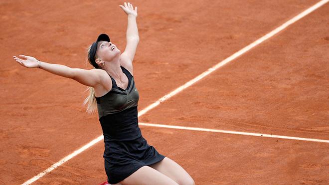 Maria Sharapova: Từ Cô bò trên sân băng, đến Nữ hoàng đất nện