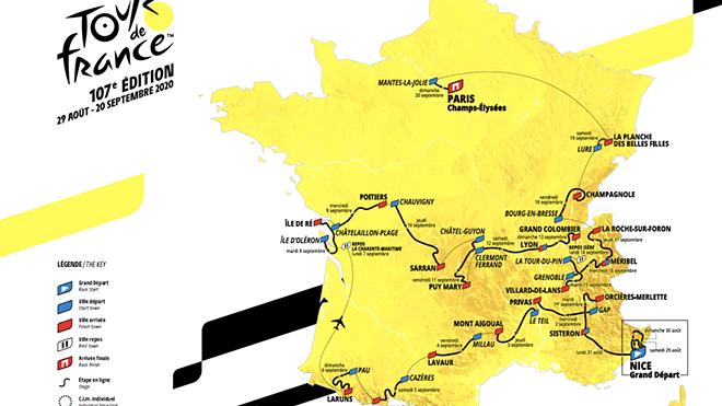 Tour de France dời lịch thi đấu vì Covid-19
