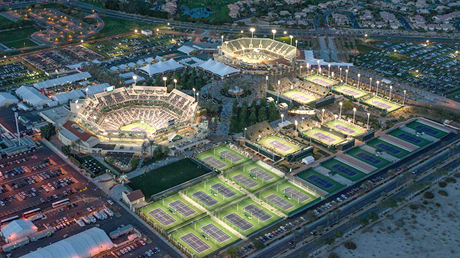 Tennis: Mỹ mở rộng sẽ diễn ra ở Indian Wells?