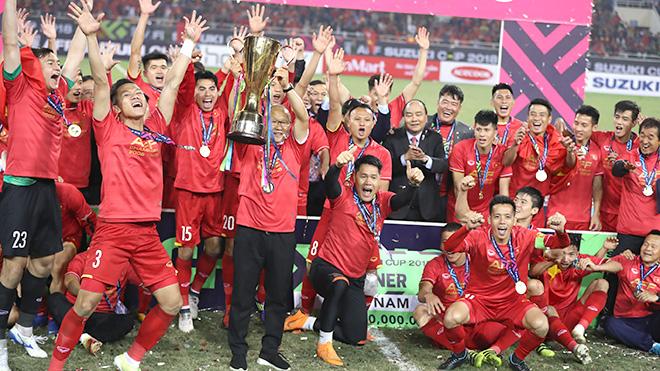 VFF, tuyển thủ vui mừng vì sớm có bản quyền AFF Cup 2020
