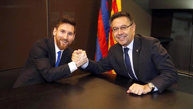Barca: Đâu chỉ Griezmann, Messi cũng lạnh nhạt với Bartomeu