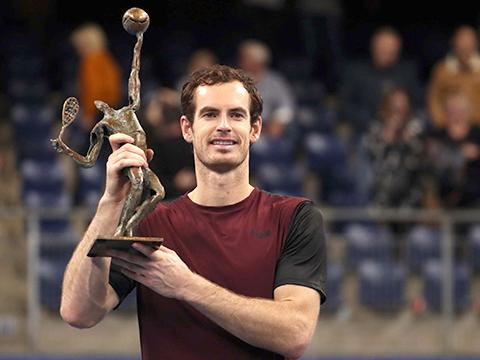 Andy Murray vô địch European Open 2019: Danh hiệu nhỏ, ý nghĩa lớn