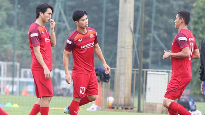 HLV Park Hang Seo bảo mật thông tin đội tuyển Việt Nam