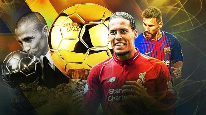 Quả bóng vàng 2019: Đừng là Messi, hãy là Van Dijk