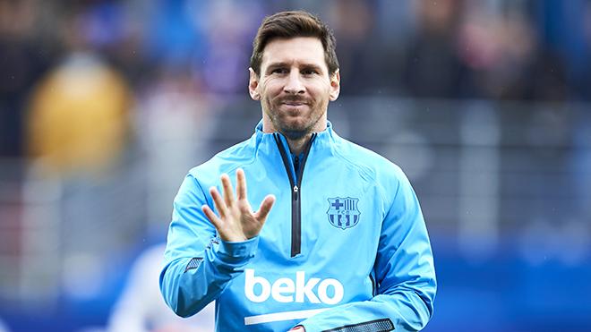 Barcelona: Messi chỉ hạnh phúc trong thế giới Barca