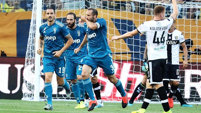 Juventus thắng tối thiểu Parma: Kỷ nguyên 'Sarriball' đã bắt đầu...