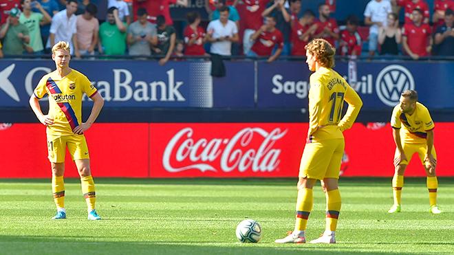Barca: Không Messi, không chiến thắng