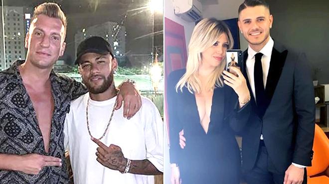 Khi Maxi Lopez kéo Neymar vào cuộc chiến Icardi