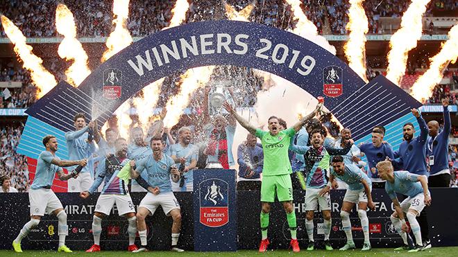 Man City giành Cúp FA: Mùa tới, Man City có vô địch Champions League?