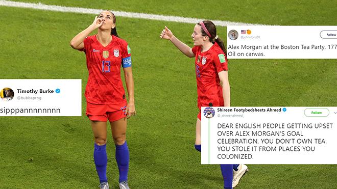 World Cup 2019: Tách trà gây bão của Hoa khôi tuyển Mỹ Alex Morgan
