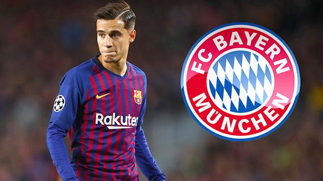 Bayern, chuyển nhượng Bayern Munich, bóng đá, chuyển nhượng bóng đá, Coutinho, Coutinho tới Bayern, Barca, Barca bán Coutinho, tin chuyển nhượng  Barca, lịch thi đấu