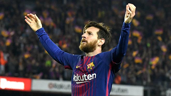 Đã rõ khả năng ra sân của Messi đêm nay