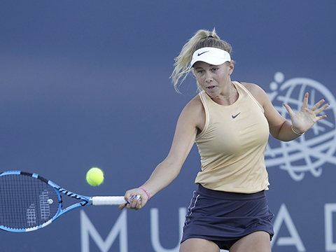 Tennis: Tài năng trẻ Amanda Anisimova rút khỏi US Open 2019 vì cha mất