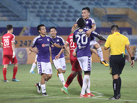 Bao giờ Hà Nội FC nâng cúp vô địch V-League 2019?