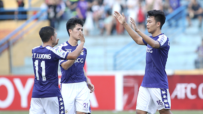 Hà Nội FC ung dung vào bán kết AFC Cup