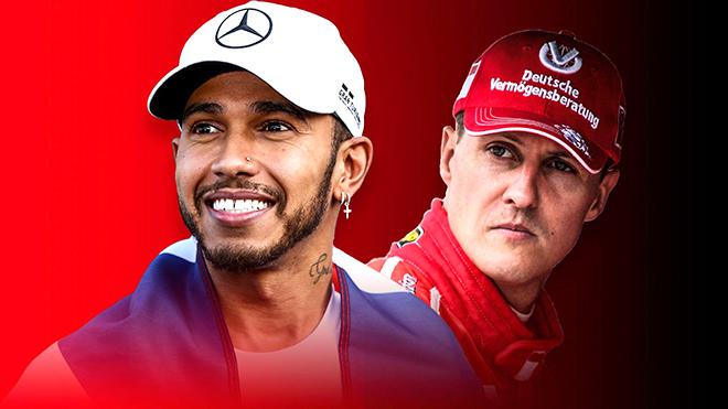 Lewis Hamilton sẵn sàng xô đổ 7 kỷ lục của Schumacher