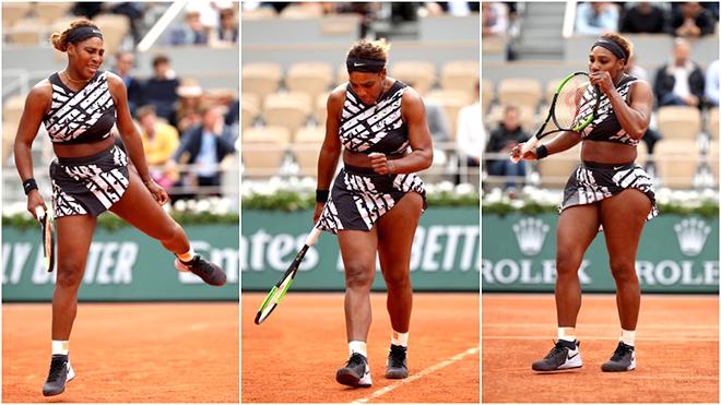 Roland Garros 2019: Giải mã bộ trang phục của Serena Williams