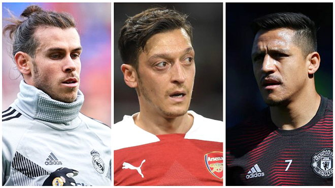 Chuyển nhượng: Bale, Sanchez, Oezil & những món nợ xấu châu lục