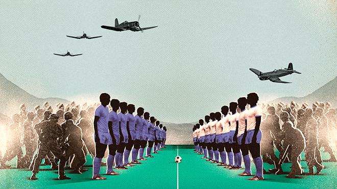 50 năm bóng đá chiến tranh