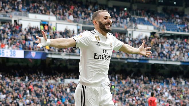 Real Madrid bớt nỗi lo nhờ ''cái đầu vàng'' Karim Benzema