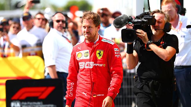 Vettel: Thua nhiều nên dễ giận dỗi