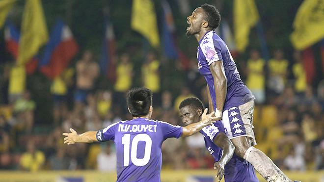 Hà Nội FC hòa mà như thắng tại bán kết lượt đi AFC Cup