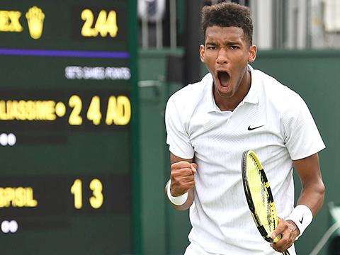 Lịch thi đấu quần vợt hôm nay, lịch đấu đơn nam, lịch đấu đơn nữ, trực tiếp quần vợt, trực tiếp Nadal vs Querrey, Federer vs Nishikori, Djokovic Goffin, Serena, Wimbledon, tài năng trẻ, thần đồng, Gauff, Aliassime