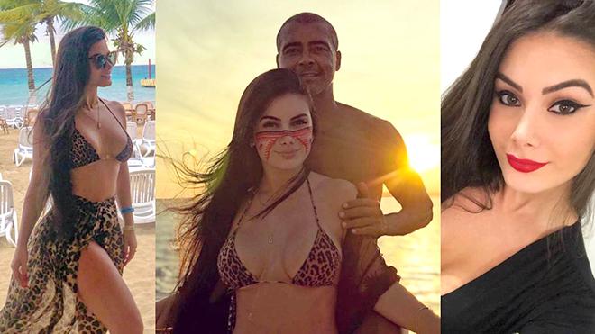 Bạn gái sinh viên công khai tình yêu với cựu danh thủ Romario