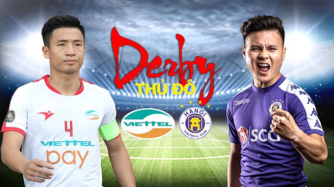 Viettel vs Hà Nội FC (19h00, 6/3, VTV6, BĐTV, FPT Play trực tiếp):  Nóng lại ''derby Thủ đô''