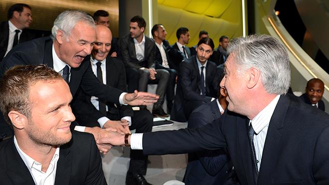 Roma vs Napoli: Ngày Ranieri gặp lại Ancelotti