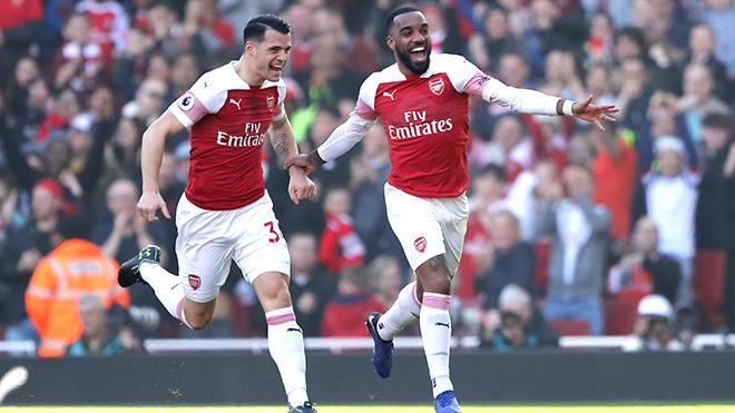 Arsenal: Yên tâm hơn với hàng thủ 4 người