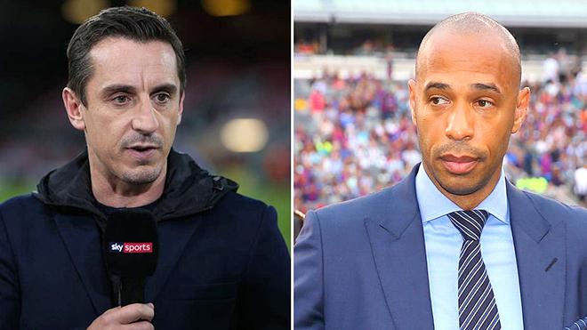 Siêu sao bóng đá, thảm hoạ HLV: Từ Thierry Henry đến Gary Neville