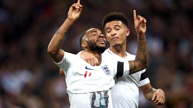 Hàng công đội tuyển Anh: Sự tiến hóa của Raheem Sterling