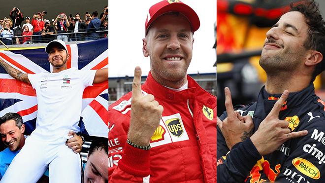 Mỹ Đình chào đón Hamilton, Vettel, Verstappen...