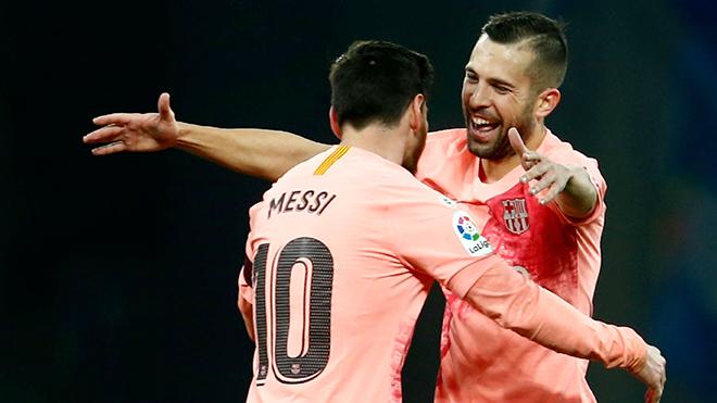 Jordi Alba: Barcelona sẽ rất nhớ Messi