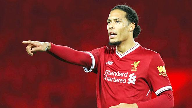 Liverpool: Van Dijk nâng tầm giá trị trung vệ