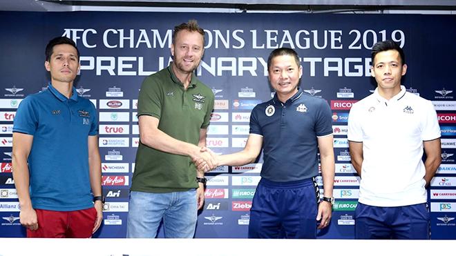 19h00 ngày 12/2, Bangkok Utd - Hà Nội FC:  'Thuốc thử' á quân Thai-League
