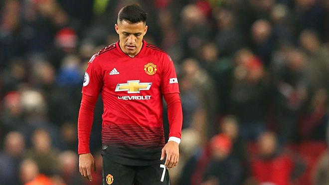 M.U: Alexis Sanchez không còn tương lai tại Old Trafford
