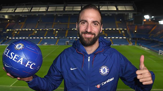Chuyển nhượng Chelsea: Đặt cược vào Higuain
