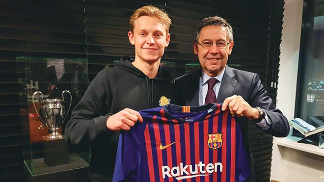 Barca và thương vụ Frenkie De Jong: Tìm lại phong cách Johan Cruyff