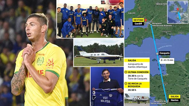 Máy bay chở tân binh Ngoại hạng Anh mất tích: Lời kêu cứu trong tuyệt vọng