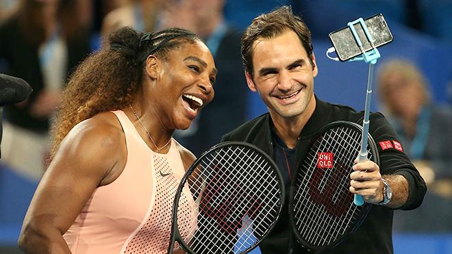 Roger Federer lần đầu so tài cùng… Serena Williams: Phấn khích và tiếc nuối