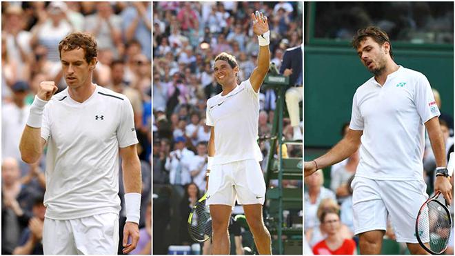 Nadal, Murray và Wawrinka khởi đầu mùa giải mới: Những bước chân rón rén