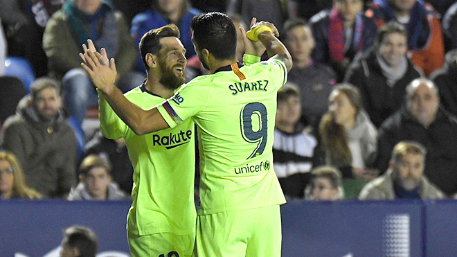 Messi - Suarez, cặp đôi hoàn hảo của Barca